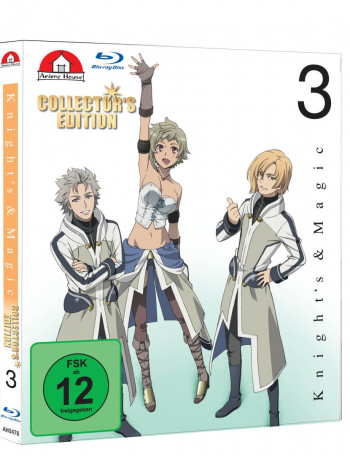 Knights & Magic Gesamtedition - Mit Powerbank [Blu-ray]