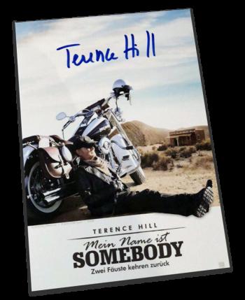 Mein Name ist Somebody - Zwei Fäuste kehren zurück  - Ultimate 3-Disc Limited Fan Edition im Mediabook (DVD + Blu-ray + Bonus-Disc) mit original handsignierter Autogrammkarte von Terence Hill