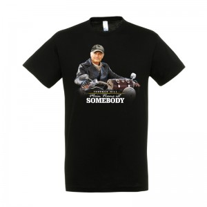 """T-Shirt """"Mein Name ist Somebody"""" -  Motiv: Motorrad - Größe M"""