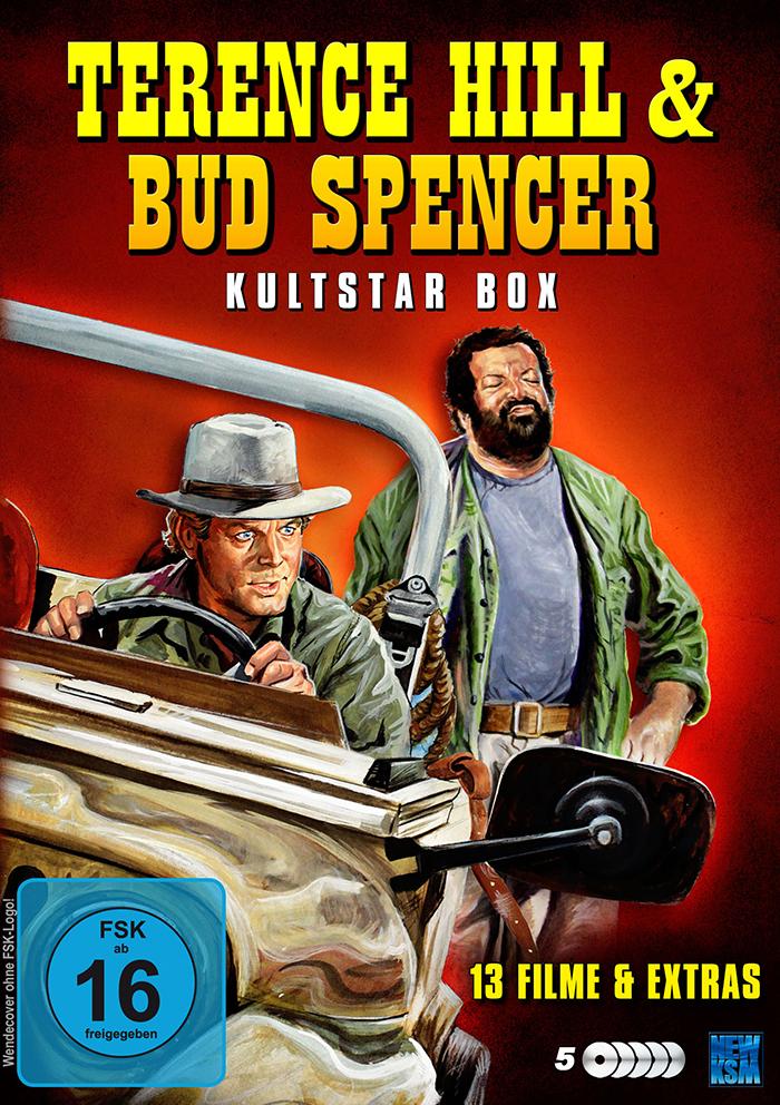 Terence Hill & Bud Spencer - Kultstar Box [DVD]
